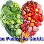Pastor As Dietitian