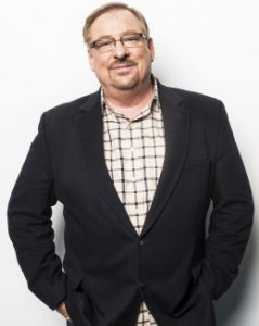 Dr. Rick Warren, a founding pastor of Saddleback Church in California poses for a portrait at Huffington Post headquarters in New York Wednesday Nov. 28, 2012. (Damon Dahlen, AOL)